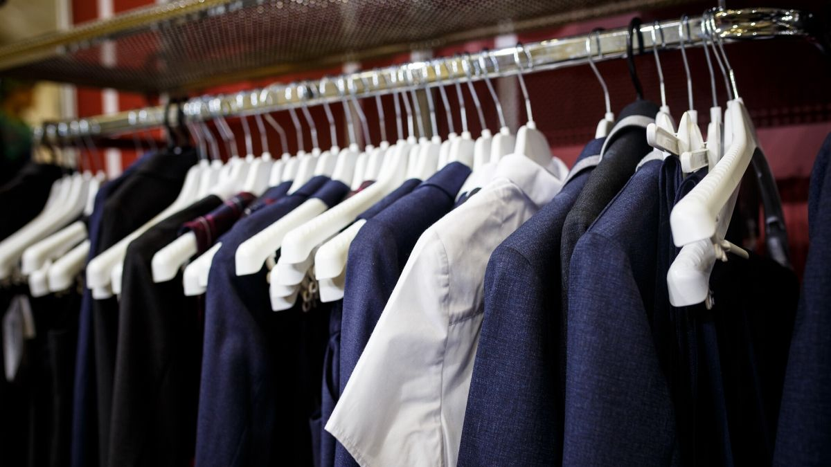 School uniform exchange shop